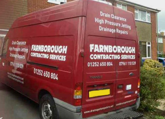 Farnborough Contracting for Drainage Problems & Groundworks